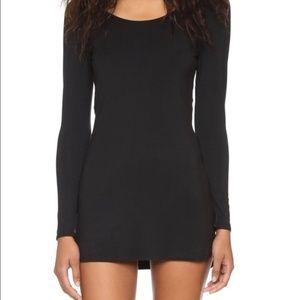 SPLENDID INTIMATES Black Long Sleeve Nightgown S